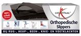 Afbeelding vanLucovitaal Orthopedische Slipper Zwart Maat 45 46 1 paar