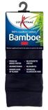 Afbeelding vanLucovitaal Bamboe Sok Lang Blauw 43 46 (1paar)