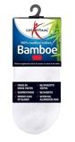 Afbeelding vanLucovitaal Bamboe Enkelsok Wit Maat 39 42 1 paar
