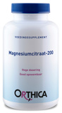 Afbeelding vanOrthica Magnesiumcitraat 200 Tabletten 120st