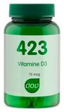 Afbeelding vanAOV 423 Vitamine D3 75 Mcg, 90 Veg. capsules
