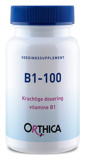 Afbeelding vanOrthica Vitamine B1 100 (90 tabletten)