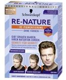 Afbeelding vanSchwarzkopf Re nature Man Midden Blond Bruin Haarverf (1set)
