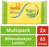 Afbeelding vanZwitsal Billendoekjes met Lotion 65 stuks, 2x65 stuks