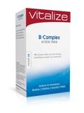 Afbeelding vanVitalize B Complex Actieve Vorm Tabletten 60TB