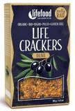 Afbeelding vanLifefood Life crackers olijf (90 gram)