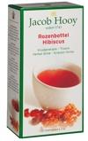 Afbeelding vanJacob Hooy Rozenbottel hibiscus thee zakjes (20 zakjes)