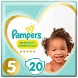 Afbeelding vanPampers Premium Protection Junior S5, 20 stuks