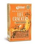 Afbeelding vanLifefood Life crackers pompoen ui (90 gram)