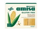 Afbeelding vanamisa Rice & corn crispbread 120 Gram