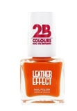 Afbeelding van2b Nagellak leather effect 616 orange 1 Stuk