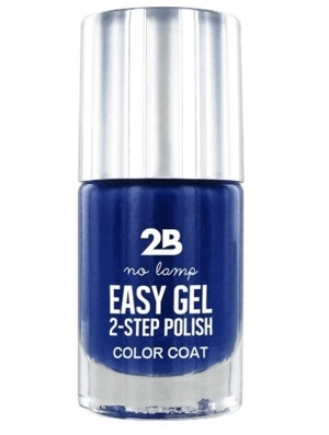 Afbeelding van 2b Nagellak easy gel 2 step polish 509 kings blue 1 Stuk