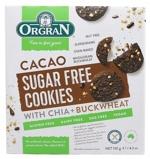 Afbeelding vanGlutenvrije Suikervrije cacao koekjes met zoetstof Orgran