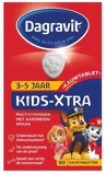Afbeelding vanDagravit Kids Xtra Kauwtabletten Framboos 2/5 jaar 60 st