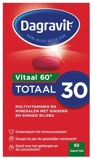 Afbeelding vanDagravit Totaal 30 extra vitaal 60+ multivitaminen en mineralen 60 tabletten