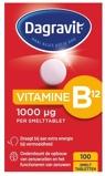 Afbeelding vanDagravit Vitamine B12 1000 mcg smelt (100 tabletten)