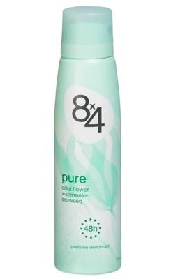 Afbeelding van 8x4 Deodorant Spray Pure (150ml)