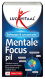 Afbeelding vanLucovitaal Mentale Focus Pil Tabletten 20TB