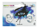 Afbeelding vanPretty Eyes 1 maand kleurlens blauw 2 stuks