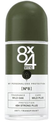 Afbeelding van 8x4 Men N8 Wild Oak Anti Transpirant Roll on