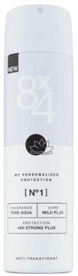 Afbeelding van 8x4 Deodorant Spray No 1 Pure Aqua 150 ml