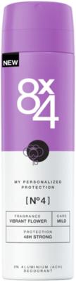 Afbeelding van 8x4 Deodorant Spray No 4 Vibrant Flower 150 ml