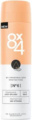Afbeelding van 8x4 Deodorant Spray No 6 Juicy Splash 150 ml