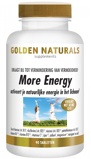 Afbeelding vanGolden Naturals More energy 90 vegetarische tabletten