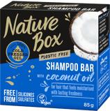 Afbeelding vanNature Box Coconut oil shampoo bar 85 gram