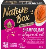 Afbeelding vanNature Box Shampoo Bar Amandel Olie 85GR