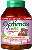 Afbeelding vanOptimax Kinder multivitamines extra 180 kauwtabletten
