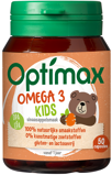 Afbeelding vanOptimax Kinder omega 3 sinaasappel (50 kauwcapsules)