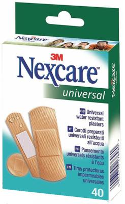 Afbeelding van 3M Nexcare universal pleisters 40 Stuks