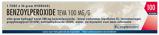 Afbeelding vanTeva Benzoylperoxide hydrogel 10% 30 gram