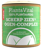 Afbeelding vanPlantavital Scherp Zien Ogen Complex 100% Plantaardig, 30 Veg. capsules