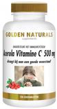 Afbeelding vanGolden Naturals Acerola vitamine c 500mg 100 zuigtabletten