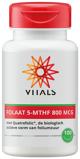 Afbeelding vanVitals Folaat 5 MTHF 800 mcg (100 capsules)
