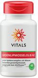 Afbeelding vanVitals Groenlipmosselolie NZ Softgels 60SG