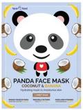 Afbeelding vanMontagne Jeunesse Panda sheet face mask coconut & banana 1 stuk