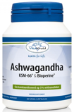 Afbeelding vanVitakruid Ashwagandha ksm 66 & bioperine 60 vegetarische capsules