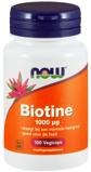 Afbeelding vanNOW Biotine 1000 mcg (100 vega capsules)
