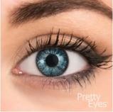 Afbeelding vanPretty Eyes Daglens blauw 2.50 2st