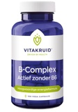 Afbeelding vanVitakruid B complex actief zonder b6 100 vegetarische capsules
