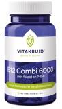 Afbeelding vanVitakruid B12 Combi 6000 met Folaat & P 5 p, 60 tabletten