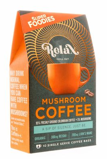 Afbeelding vanSuperfoodies Mushroom coffee relax 10 gram zakjes (10 stuks)