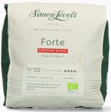 Afbeelding vanSimon Levelt Cafe Pads Forte Superior Blend, 36 stuks