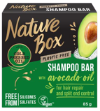 Afbeelding vanNature Box Shampoo bar avocado olie 85 gram