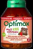 Afbeelding vanOptimax Kinder Multi Aardbei (180kt)