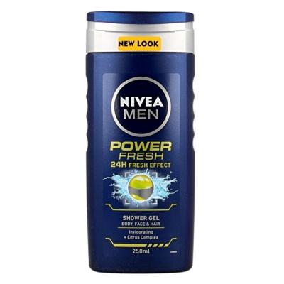 Afbeelding van Nivea For men douchegel power fresh 250ml