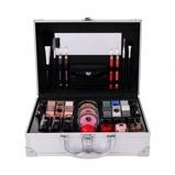 Zdjęcie2K All About Beauty Train Case zestaw kosmetyków Complete Makeup Palette dla kobiet